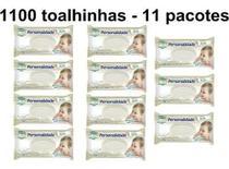 Kit C/11 Lenço Umedecido Personalidade Baby C/100 Toalhinhas Revenda -