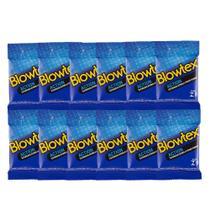 Kit C/ 12 Pacts Preservativo Blowtex Action c/ 3 Un Cada -