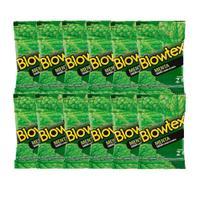 Kit C/ 12 Pacts Preservativo Blowtex Menta c/ 3 Un Cada -