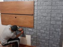 Kit C/ 12 Placas Revestimento Parede Alto Relevo Painel 3d (3mt2) - MAS LAR