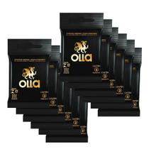 Kit c/ 12 Preservativo OLLA Lubrificado 3 unidades -