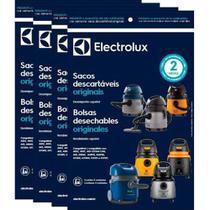 Kit c/ 12 Sacos Descartáveis Aspiradores Electrolux A10 / A13 / Aqp / Gt / Flex -
