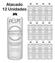 Kit C/12 Shampoo Antirresíduo 1litro Felps Profissional Xmix -