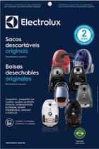Kit c/ 15 SACOS DESCARTÁVEIS ASPIRADORES ELECTROLUX EQUIPT / ULTRAONE / ULTRASILENCER / CLÁRIO -