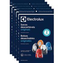 Kit c/ 15 Sacos Descartáveis Aspiradores Electrolux Neo / Listo / Pet Lover -