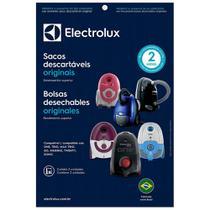 Kit c/ 15 sacos  para aspirador sbeon  - electrolux - Eletrolux