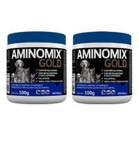 Kit c/ 2 Aminomix Gold Vetnil - 100g -