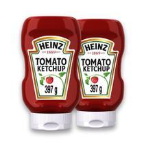 Kit c/ 2 Ketchup Heinz Tradicional 397g -