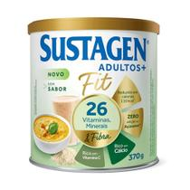 Kit c/ 2 Sustagen Fit Complemento Alimentar Sem Sabor 370g -