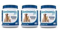 Kit c/ 3 Aminomix Pet 500g Vetnil Suplemento -
