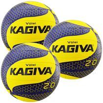 Kit C/ 3 Bolas de Vôlei Kagiva 2.0 -