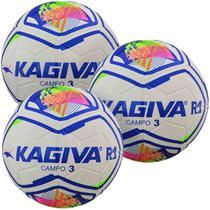 Kit C/ 3 Bolas Infantil Kagiva R1 Nº 3 Campo -