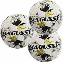 Kit C/ 3 Bolas Infantis Magussy Evolution X-Fusion Max 100 Futsal Sub 11 -