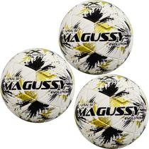Kit C/ 3 Bolas Infantis Magussy Evolution X-Fusion Max 50 Futsal Sub 9 -
