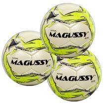 Kit C/ 3 Bolas Magussy Microfibra OFC Elite Futsal -