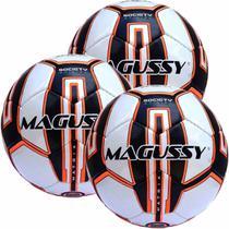 Kit C/ 3 Bolas Magussy Society Matrix 7 PU C/ Proteção UV -