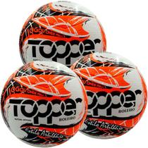 Kit C/ 3 Bolas Topper Boleiro Futsal Tech Fusion -