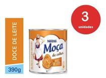 Kit C/3 Doce De Leite Moça 390g - Nestlé