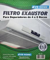 Kit c/ 3 - Manta Filtro Para Depurador de 4 ou 6 Bocas - Vb Home
