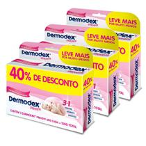 Kit c/ 3 Pomada Dermodex Prevent 60g 2 Un -