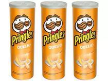 Kit C/3 Potes De Pringles Queijo 120g -