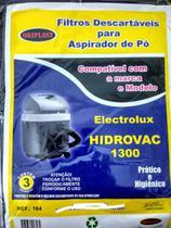 Kit c/ 3 Sacos Descartáveis Aspirador Electrolux Hidrovac 1300 - Oriplast