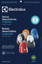 Kit c/ 3 sacos descartáveis aspirador electrolux listo -