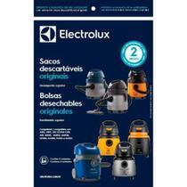Kit c/ 3 Sacos Descartáveis Aspiradores Electrolux A10 / A13 / AQP / GT / FLEX / AWD -