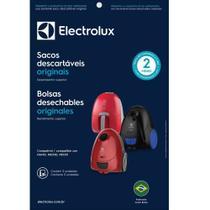 Kit c/ 3 sacos descartáveis aspiradores electrolux nano / neo30 / neo31 -