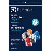 Kit c/ 3 Sacos Descartáveis Aspiradores Electrolux Neo / Listo / Pet Lover -