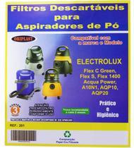 Kit c/3 Sacos Descartáveis Electrolux Flex - Oriplast