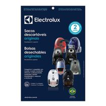 Kit c/3 Sacos Descartáveis P/ Aspiradores: Clario, Classic Silencer, Jetmaxx, Ultrasilencer, Equipt - Electrolux