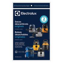 Kit c/ 3 Sacos Originais p/ Aspiradores Electrolux: A10 Novo, Flex, Acqua Power e Gt2000 (CSE10) -