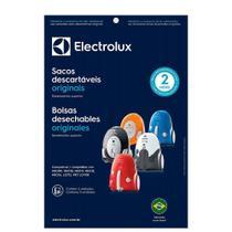 Kit c/ 3 Sacos Originais p/ Aspiradores Electrolux: NEO, LISTO E PET LOVER (SBENE) -