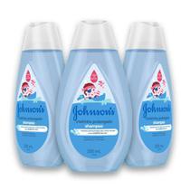 Kit c/ 3 Shampoo JOHNSON'S Cheirinho Prolongado 200 ml -