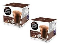 Kit C/32 Cápsulas Nescafé Dolce Gusto Chococino 2 Caixas -