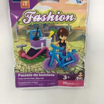 Kit c/ 4 Modelos Brinquedo P Montar Click It Fashion - Play Cis
