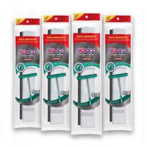 Kit c/ 4 Noviça Refil Mop Limpa Vidros -