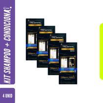 Kit c 4 unid TRESemmé Shampoo 400ml + Cond 200ml Hidratação Profunda -