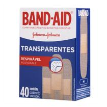 Kit c/ 5 Curativos BAND AID Regular 40 unidades -
