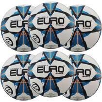 Kit C/ 6 Bolas Euro Sports Pro Tec Eurotouch Várzea -