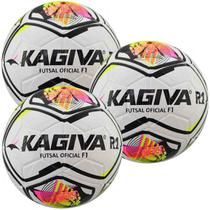 Kit C/ 6 Bolas Infantil Kagiva R1 F1 Sub 7 Futsal -
