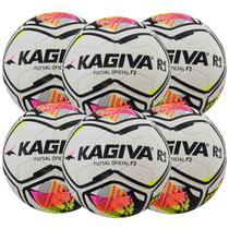 Kit C/ 6 Bolas Infantil Kagiva R1 F2 Sub 9 Futsal -