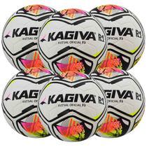 Kit C/ 6 Bolas Infantil Kagiva R1 F3 Sub 11 Futsal -