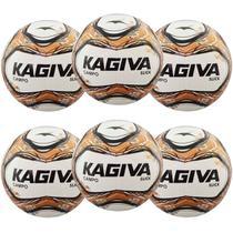 Kit C/ 6 Bolas Kagiva Slick Campo Tech Fusion Impermeável -