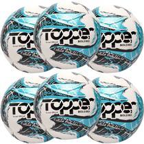 Kit C/ 6 Bolas Topper Boleiro Futsal Tech Fusion -