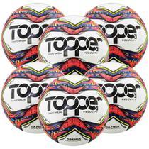 Kit C/ 6 Bolas Topper Samba Velocity Pro Campo -