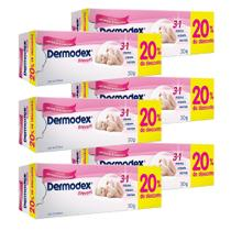 Kit c/ 6 Dermodex Prevent Creme 30g -