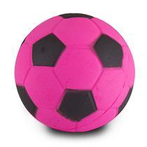 Kit c/ 6 Mordedor Canino Bolinha de Futebol 7 Cm Brinquedo para Pet - 128123 - Wellmix