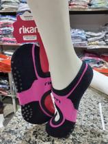 Kit C/6 Pares Meia Pilates Rikam -
